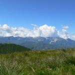 panorama della Apuane dal Bocca di Scala 2