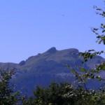 """il """"Naso"""" e il rifugio Rossi dal Col delle Capanne"""