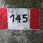 segnavia del sentiero 145