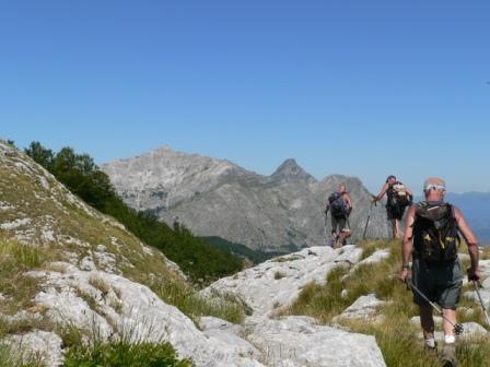 panorama verso le Apuane settentrionali