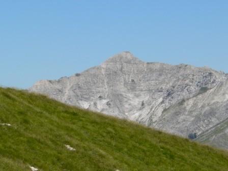 la Tambura un cono di marmo: particolare