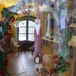 """il rifugio attraverso il """"Babbo Natale"""" d'ingresso"""
